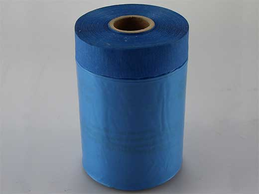 Blue Pre-taped Masking Film