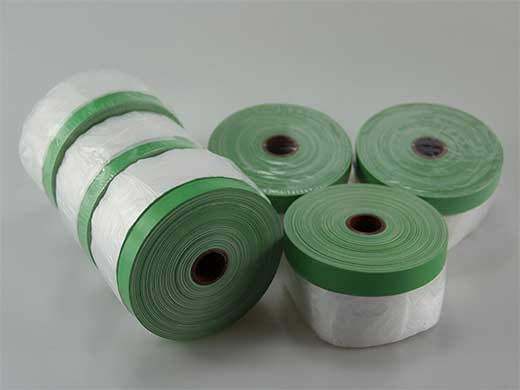 Outdoor Used Cloth Taped Masking Film